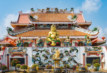 Chinese temple in Thailand, They are public domain or treasure o