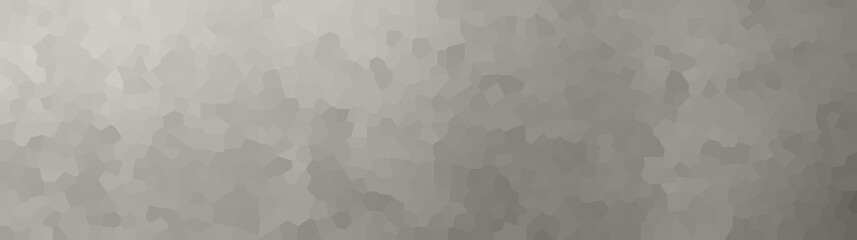 vector illustration - gray polygon abstract mosaic banner