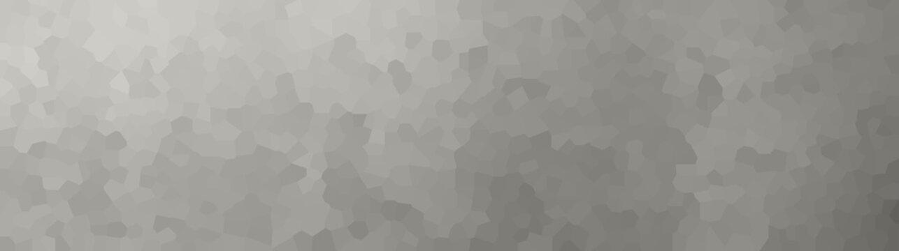 vector illustration - gray polygon abstract mosaic banner