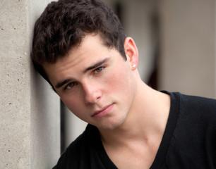 Portrait of Handsome Teenage Boy