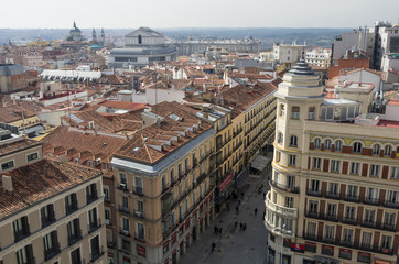 Madrid. View from above