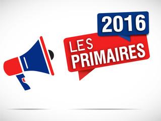 mégaphone : primaires 2016