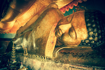 Golden  Buddha at temple area