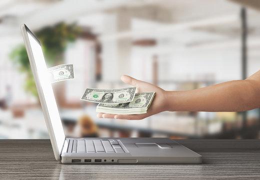 Fare soldi online dollari