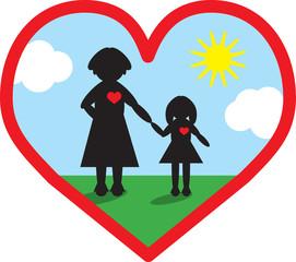 Ein Herz für Mutter und Kind