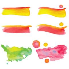 Macchie di acquerello - EPS
