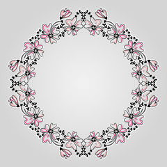 Hand drawn decorative frame