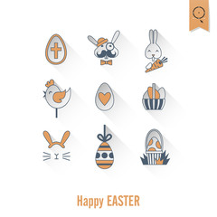Celebration Easter Icons