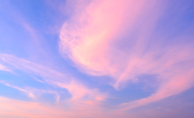 Abstract sunset sky background