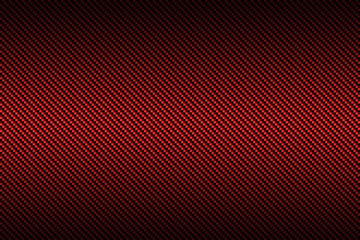 red carbon fiber with black gradient color, background and textu