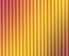 Vintage retro gradient orange and red vertical stripes backgroun