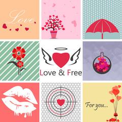 Love Set Art
