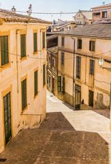 Wall Mural - Gasse Altstadt Fassaden Mediterran