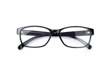 glasses on a white background Wall mural