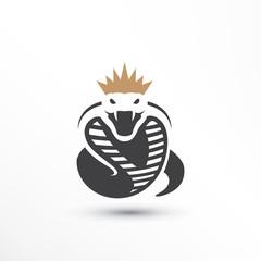 King Snake Logo