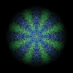 Mandala Farblich