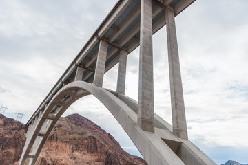 The Bridge by the Hoover Dam