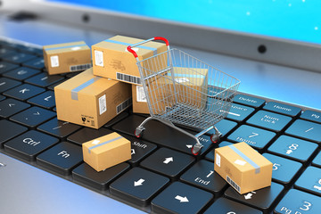 Shipping, delivery and logistics technology business industrial