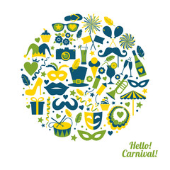 Carnival vector illustration
