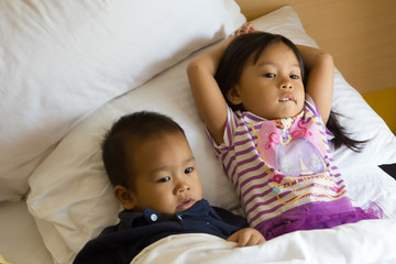 childrens relaxing one bed