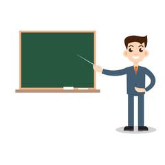 Teacher man on lesson