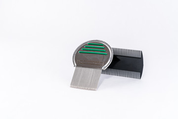 Two different types of louse combs for lice treatment.
