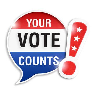 bubble : your vote counts