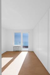 Empty room in modern house