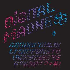 digital madness font