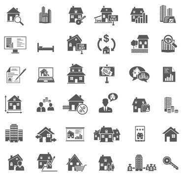 36 Real Estate Icons