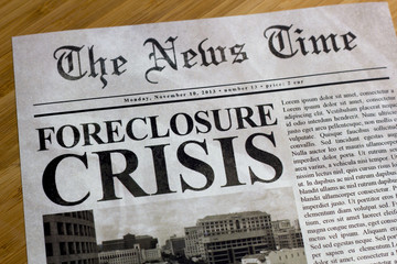 Foreclosure Crisis Headline