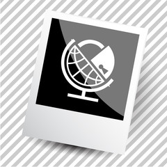 globe and lock.