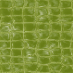 Alligator skin texture generated. Seamless pattern.