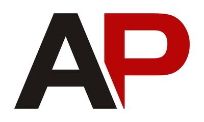 Letter AP Modern Logo