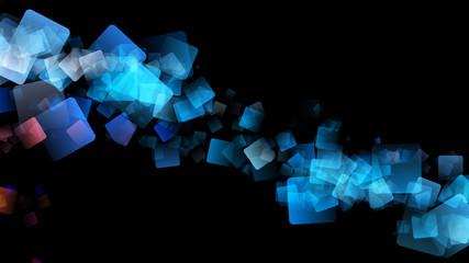fantastic abstract square background design illustration