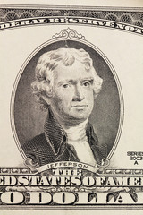 portrait on dollar