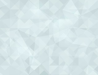Crystal triangle texture. Seamless background.