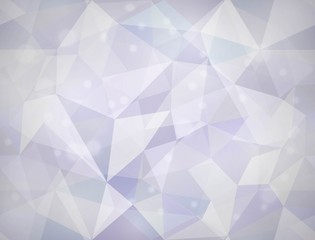 Triangle texture. Vector seamless background.