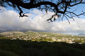 Honolulu City Skyline Metropolis Hawaii United States