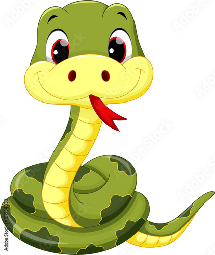 cute baby snake cartoon stock image and royalty free vector files
