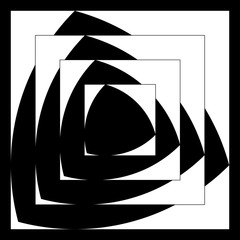Reuleaux triangle pattern