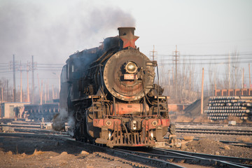 Chinese steam locomotives