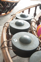 Thai xylophone musical equipment of Thailand