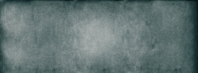 Turquoise Classroom Blackboard Background Chalk Erased Texture