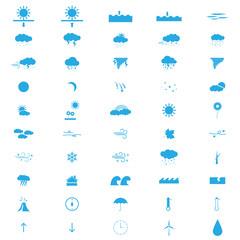 weatherweather flat icons