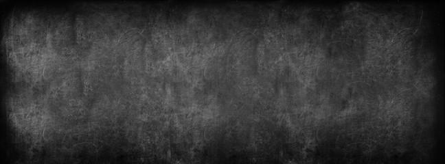 Black Classroom Blackboard Background. School Vintage Texture