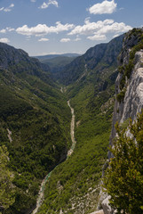 The Verdon Gorge in south-eastern France, Haut Provence,