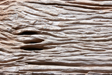 Rough natural wood