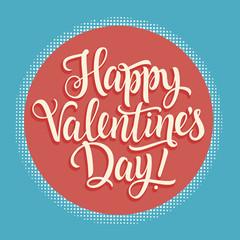 Happy Valentines Day Inscription 1