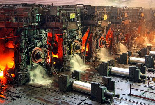 Steel-rolling mill of MMK